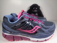 Womens Saucony Echelon 5 Fundation Fit Running shoes size 8 S10277-1 Wide #Saucony #RunningCrossTraining