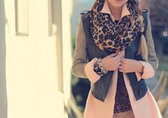 Pastels & Leopard on Liz from Late Afternoon <3  #fashion #street #style