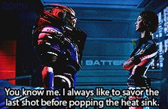 probably the most important Garrus quote