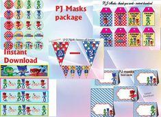 Instant Download  PJ Masks package include: PJ Masks by alisprint