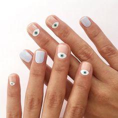 Minimalist Nail Art Ideas That You Can Keep This Winter 36 - Diy Nail Designs Gel Nails, Acrylic Nails, Nail Polish, Nude Nails, Toenails, Nail Nail, Matte Nails, Glitter Nails, Coffin Nails