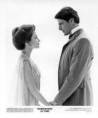 Jane Seymore & Christopher Reeve in Somewhere in Time  My favorite movie - so romantic