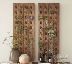 $299 for one strip.  Decorative French Wine Riddling Rack. Anyone have some old boards and a drill?