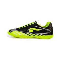 Chuteira Society Infantil Nike Mercurial X Vortex 3 CR7 TF Preto e Verde Limão