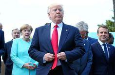 Trump amenazó a Alemania con guerra comercial