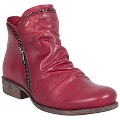 Best Boots For Women | Miz Mooz Womens LUNA Boot Red 85 M US *** You can find out more details at the link of the image. Note:It is Affiliate Link to Amazon.
