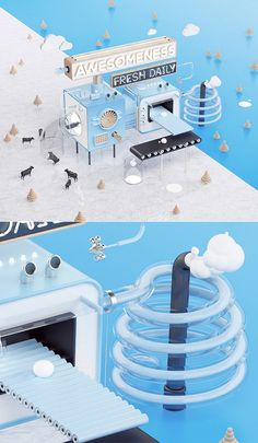M!LK MACHINE on Behance