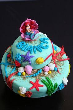 Under the sea birthday cake tutorial!