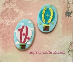 hotairballoon cookies Hot Air Balloon Cookies, Facebook Sign Up, Balloons, Sweets, Cupcakes, Sweet Pastries, Gummi Candy, Candy Notes, Cupcake