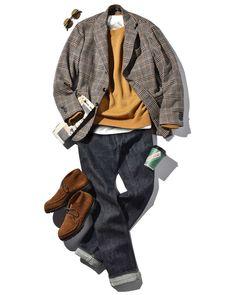 Winter Outfits Men, Fall Outfits, Fashion Outfits, Business Casual Outfits, Business Fashion, Denim Shirt Men, Jacket Style, Winter Fashion, Menswear