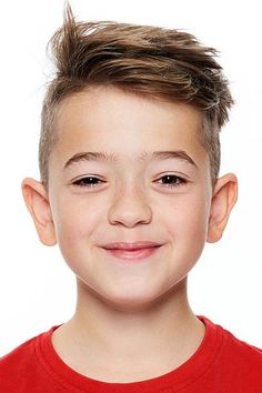 Check out the most popular boys haircuts of 2021 here. We included trendy hairstyles for any kid, from a toddler to a teen, such as a short on sides long on top cut, a curly black faux hawk with a medium fade and many others. #menshaircuts #menshairstyles #boyshair #boyhaircuts #boyshaircuts #haircutsforboys Popular Boys Haircuts, Trendy Boys Haircuts, Boy Haircuts Short, Toddler Haircuts, Little Boy Hairstyles, Baby Boy Haircuts, Trendy Hairstyles, Office Hairstyles, Anime Hairstyles