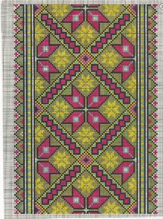Tapestry Crochet Patterns, Bead Loom Patterns, Peyote Patterns, Cross Stitching, Cross Stitch Embroidery, Palestinian Embroidery, Thread Art, Peyote Stitch, Cross Stitch Charts