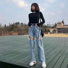 My clothes wishlist December 02 2019 at fashion-inspo Cute Casual Outfits, Retro Outfits, Edgy Outfits, Grunge Outfits, Summer Outfits, Korean Fashion Trends, Korean Street Fashion, Asian Fashion, Korea Fashion