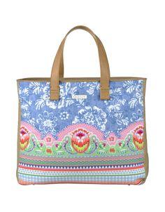OILILY Women's Wear - Spring Summer 2014 - Beach bag 'Makkum Tiles'