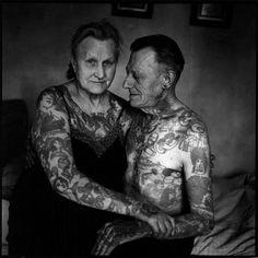 Inked Elderly Couple