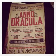 Anno Dracula by Kim Newman...vampires plus Jack the Ripper equals a book I cannot put down! Highly recommended!
