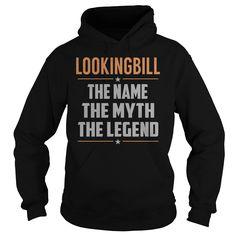 LOOKINGBILL The Myth, Legend - Last Name, Surname T-Shirt