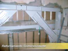 Reforzamiento con estructura metalica