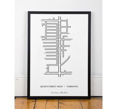 Queen Street West Printable wall art by ThePrintCooperative