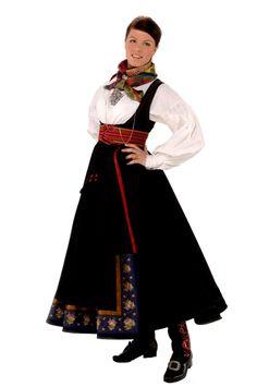Beltestakk from Telemark, Norway Art Costume, Folk Costume, Norwegian Clothing, Norwegian Wedding, Beautiful Norway, Renaissance Costume, Bridal Crown, Ethnic Fashion, Traditional Outfits