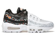 """EffortlesslyFly.com - Kicks x Clothes x Photos x FLY SH*T!: Nike Air Max 95 """"Just Do It"""" Pack"""