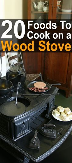 20 Foods to Cook on a Wood Stove. With a wood stove already running, you can save on stovetop electricity or propane. #Homesteadsurvivalsite #Cookingonthewoodstove #Woodstove #Cookingoffthegrid #Livingoffthegrid