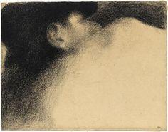 Georges Seurat, Le dormeur, 1883 – Paris, musée d'Orsay, conservé au musée du…
