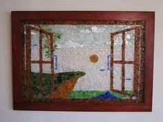 Outside My Window - 24 x 36