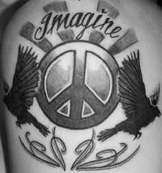 black peace tattoo - Google Search Vine Tattoos, Cool Tattoos, Amazing Tattoos, Tatoos, Tattoo Designs For Women, Tattoos For Women, Tattoos For Guys, Future Tattoos, Tatuajes