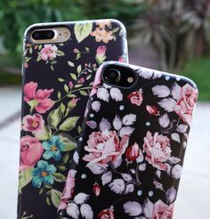 Pastel Bloom & Blush Rose Case for iPhone 8/7, iPhone 8 Plus/7 Plus & iPhone X from Elemental Cases #elementalcases #blushrose #pastelbloom #florals available for #iphone8 #iphone8plus #iphonex #iphone7 #iphone7plus