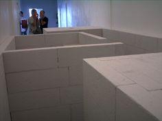 Vanessa Carneiro Kindt - Detail of Installation - Material: YTONG blocks