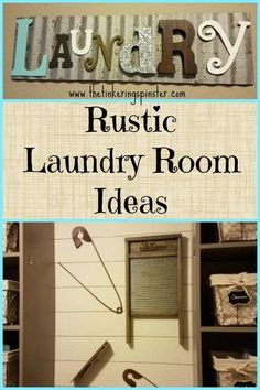See our rustic laundry room decor ideas and transform your own laundry room easily. #farmhouse #farmhousestyle  #farmhousedecor  #fixerupper  #rusticdecor  #vintagestyle  #laundryroommakeover #laundryroom  #homedecorideas #sherwinwilliams #minwax #classic