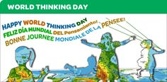 How to celebrate Girl Scout's World Thinking Day.
