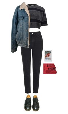"""wednesday"" by julietteisinthe80s on Polyvore featuring Topshop, Brunello Cucinelli, Dr. Martens and Brandy Melville"