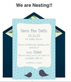 Save the Day for my baby shower:))