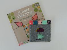 s.o.t.a.k handmade: sweet tweets coaster