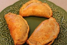 Empanadas de Papaya. Made sweet by using cinnamon roll dough. YUM!