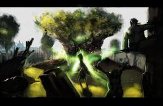 The Mothertree Sings by =morganagod on deviantART (Ender's Game)