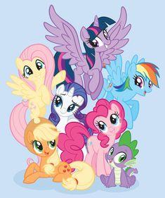 - alicorn, applejack, fluttershy, mane six, mane si My Little Pony Fotos, My Little Pony Cumpleaños, Cumple My Little Pony, Dessin My Little Pony, My Little Pony Poster, My Little Pony Princess, My Little Pony Twilight, Little Poney, My Little Pony Drawing