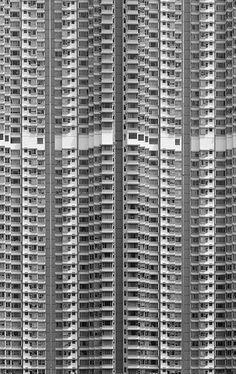 apartment buildings in hong kong: