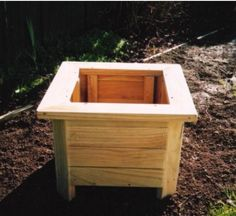 1000 Images About Wood Planter Tree Box On Pinterest 640 x 480