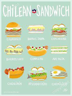 Chilean Sandwich. Desde Chile con amor