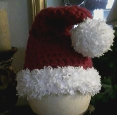 Another Santa Hat for Max