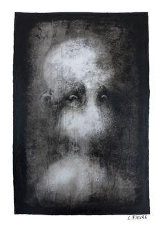 Impression 02 © Laurent Fièvre - Canson paper (acrylic) - 29.7 x 21 cm - 2015