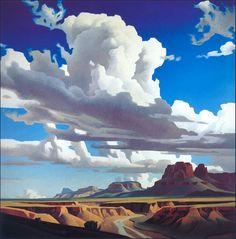 Ed Mell illustrative That sky!