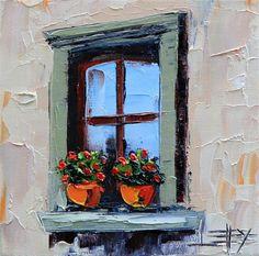 Buy Original Art by Lisa Elley   oil painting   Romance in Italy at UGallery