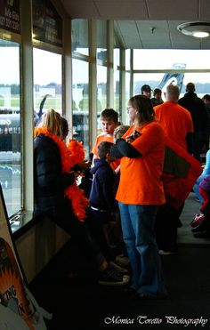Waiting patiently at the Invercargill Airport for the arrival of the new NBL champions, the Zero-Fees Southland Sharks. July 15, 2013.