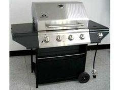 Nexgrill 720-0697 Buitenkeuken Barbecue met 4 Branders + Zijbrander RVS