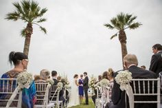 Emma and Adam's wedding ceremony.