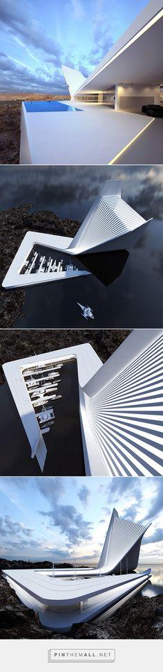 Architectural Concepts by Roman Vlasov | Inspiration Grid | Design Inspiration... -
